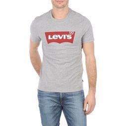Levi's T-Shirt Graphic Set-In Neck Gris Clair Mélange