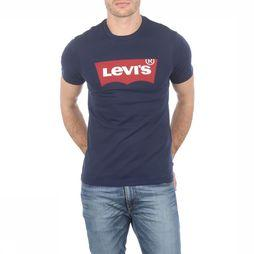 Levi's T-Shirt Graphic Set-In Neck Bleu Foncé