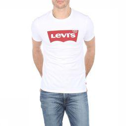 Levi's T-Shirt Graphic Set-In Neck Blanc