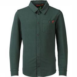 Ayacucho Junior Shirt Kumano dark khaki