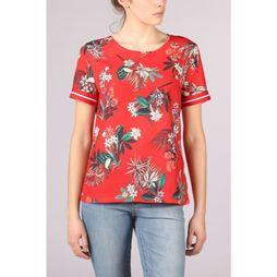 Vila Joy Shirt Ivy-L-21-B mid red/white
