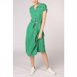 Vila Joy Dress Vivi-L-51-A mid green/white