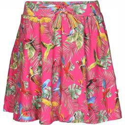 Someone Skirt Parrot-Sg-41-A mid pink/Assortment Flower