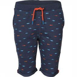 Someone Short Shark-Sb-34-F Bleu / Bleu/Assortiment