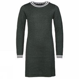 Awesome Dress Vertical-G-52-E dark green