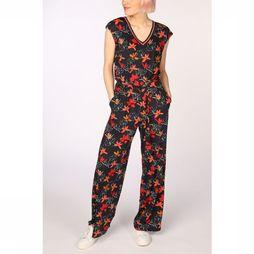 Vila Joy Jumpsuit Dallas-L-64-B Marine/Assortment Flower