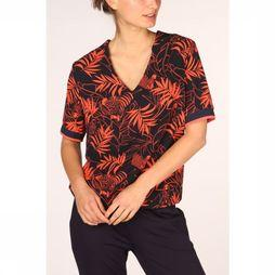 Vila Joy Blouse Denver-L-21-E marine/Rouge Clair