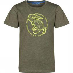Someone T-Shirt Croco-Sb-02-B mid khaki