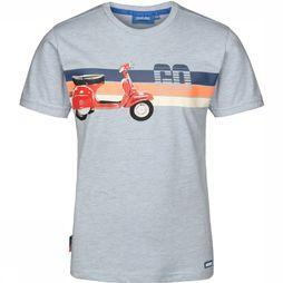 Someone T-Shirt Scoot-Sb-02-A light blue