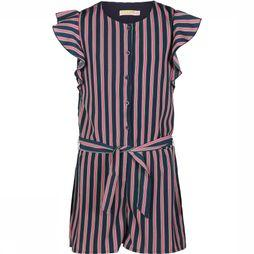 Someone Jumpsuit Think-Sg-64-A Donkerblauw/Lichtroze