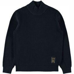 Name It Pullover Ni Reon Ls Knit dark blue