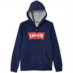 Levi's Kids Pullover Zipper Batzip dark blue