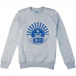Osaka People Pullover Deshi Sun Light Grey Mixture
