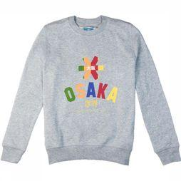 Osaka People Pullover Deshi Multi Light Grey Mixture