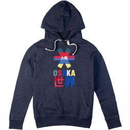 Osaka People Pullover Throwback Nautical dark blue