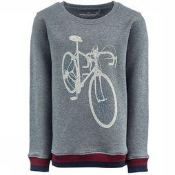 Stones and Bones Pullover Impress Race Bike Light Grey Mixture