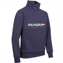 Tommy Hilfiger Pull Flags Interlocks Bleu Foncé