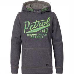 Petrol Pullover B-3090-SWH313 mid grey
