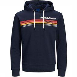 Jack & Jones Pullover Jorventure Sweat Hood Jr dark blue