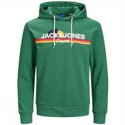 Jack & Jones Pullover Jorventure Sweat Hood Jr green