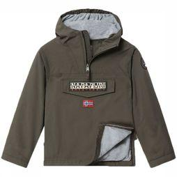 Napapijri Coat Rainforest dark khaki