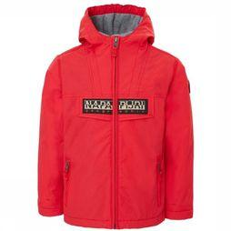 Napapijri Coat Rainforest Open red