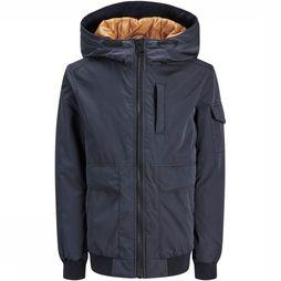 Jack & Jones Manteau Jprbanes Jacket Junior Bleu Foncé