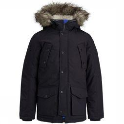 Jack & Jones Jas Jorexplore Parka Jacket Junior Zwart