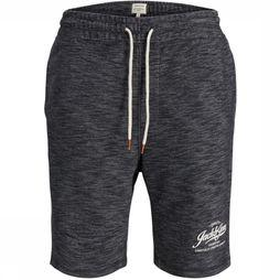 Jack & Jones Short melange Sweat Gris Foncé Mélange