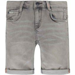 Retour Denim Deluxe Shorts Loek jeans/light grey