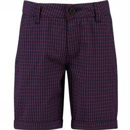 CKS Kids Shorts Benson dark blue/mid red
