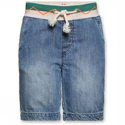 AO76 Short Jason Bleach Jeans/Lichtblauw
