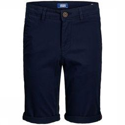 Jack & Jones Shorts Jjibowie Jjshorts Solid Sa Jr dark blue