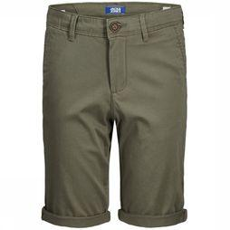 Jack & Jones Shorts Jjibowie Jjshorts Solid Sa Jr mid khaki