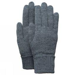 Barts Glove Fine Knitted dark grey