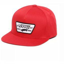 Vans Casquette By Full Patch Snapback Rouge