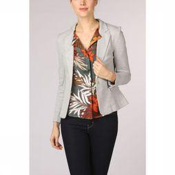 Vero Moda Basics Blazer julia Ls Dnm Color Light Grey Mixture