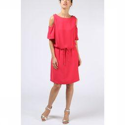 B.Young Robe Filippo Cold Shoulder Fuchsia