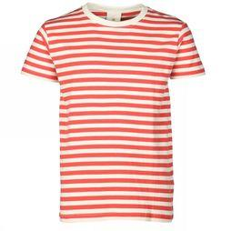 The New T-Shirt Kimberly off white/red