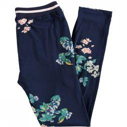 The New Trouser Kaisja dark blue/Assortment Flower