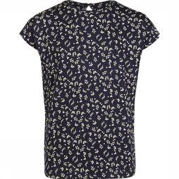 The New T-Shirt Olyah Bleu Foncé/Assortiment Fleur