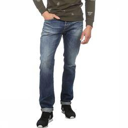 Jack & Jones Jeans Jjiclarck Jjicon Middenblauw