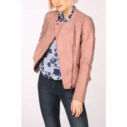 Only Faux leather Jacket ava pu biker light pink