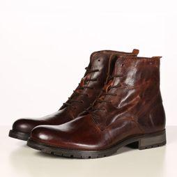 Jack & Jones Bottine Worca Leather Donkerbruin