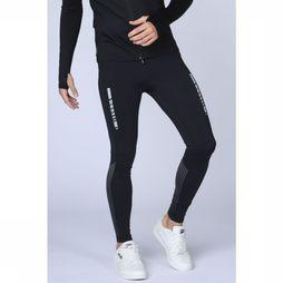 First Legging Iku Run Compression Zwart