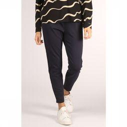 Vero Moda Basics Pantalon Eva Mr Loose Strings Bleu Foncé