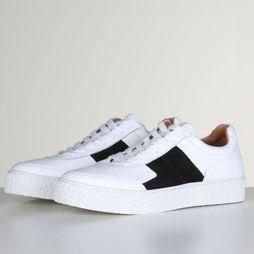 Selected Sneaker Slfdina Noos B off white/black