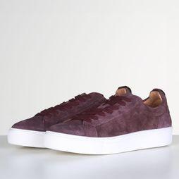 Selected Sneaker Slfdonna Suede B Bordeaux