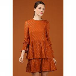 Yas Dress Yasadele Long Sleeve rust