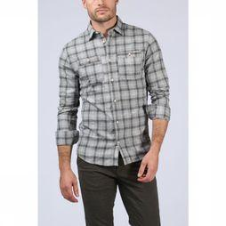 Premium Shirt Jprharry Light Grey Mixture/Dark Grey Mixture